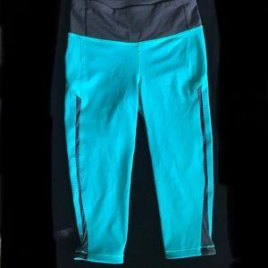 Teal Lululemon Athletica leggings